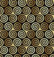 Celtic spiral pattern vector image vector image