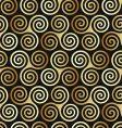 Celtic spiral pattern