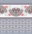 geometric ornament for ceramics wallpaper vector image vector image