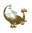 icon dragon vector image vector image