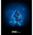 modern abstract christmas tree eps 10 vector image
