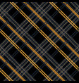 seamless pattern tartan cloth checkered pattern vector image