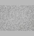 silver metal hexagon texture vector image vector image