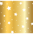 stars gold background cartoon glitter white vector image vector image