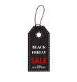 black friday sales tag grouped for easy editing vector image