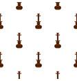 brown arabic hookah pattern seamless vector image vector image
