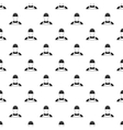 Builder pattern simple style vector image