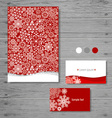 holiday gift cards with snowflake