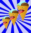 ice creams222 vector image