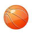 icon basketball vector image vector image