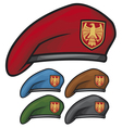 Military beret vector | Price: 1 Credit (USD $1)