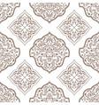 oriental seamless pattern of mandalas vector image vector image