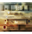 Set elements of infographics