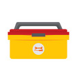 simple tool box storage drawing graphic vector image