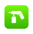 spray aerosol can bottle with a nozzle icon vector image vector image