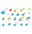 tweety birds vector image