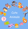 CuteAnimals vector image vector image
