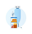 flat design icon laundry ironing board vector image