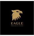 modern and professional eagle head logo design vector image vector image
