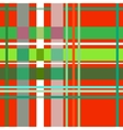 Tartan red seamless pattern vector image vector image