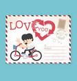 templates wedding valentines day stylish vector image
