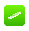 timber plank icon green vector image