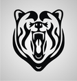 Tribal Bear Head vector image vector image