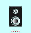 loud speaker set it is color icon vector image