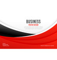 abstract red and wave background for business