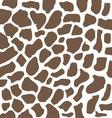Brown giraffe ornament vector image vector image