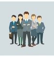 Business group director chief boss vector image vector image