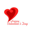 love valentines day design logo icon concept vector image