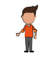 man avatar icon image vector image vector image