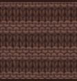 reverse ridge stitch pattern vector image