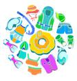 sport color vector image vector image