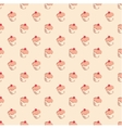 Sweet hand drawn cherry cake decoration wallpaper vector image vector image