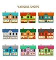 Various Shops vector image