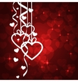 Amazing Valentines background vector image vector image