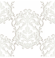 Baroque damask ornament pattern element vector image vector image