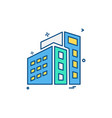 building icon design vector image