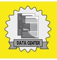 data center eps10s statistics vector image