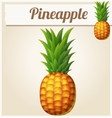 Pineapple Ananas Cartoon icon vector image vector image