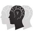 psychology vector image