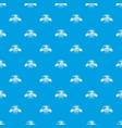 repair tool pattern seamless blue vector image vector image