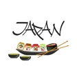 Sushi Japanese Culture Symbol vector image vector image