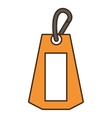tag commercial hanging isolated icon vector image vector image