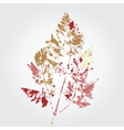 Tree leaf vector image