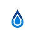 water logo icon concept design vector image vector image