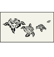 Rose icons tattoo vector image