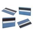 Blue creadit card vector image